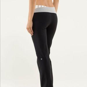 Lululemon Astro Black Pant Leggings 12